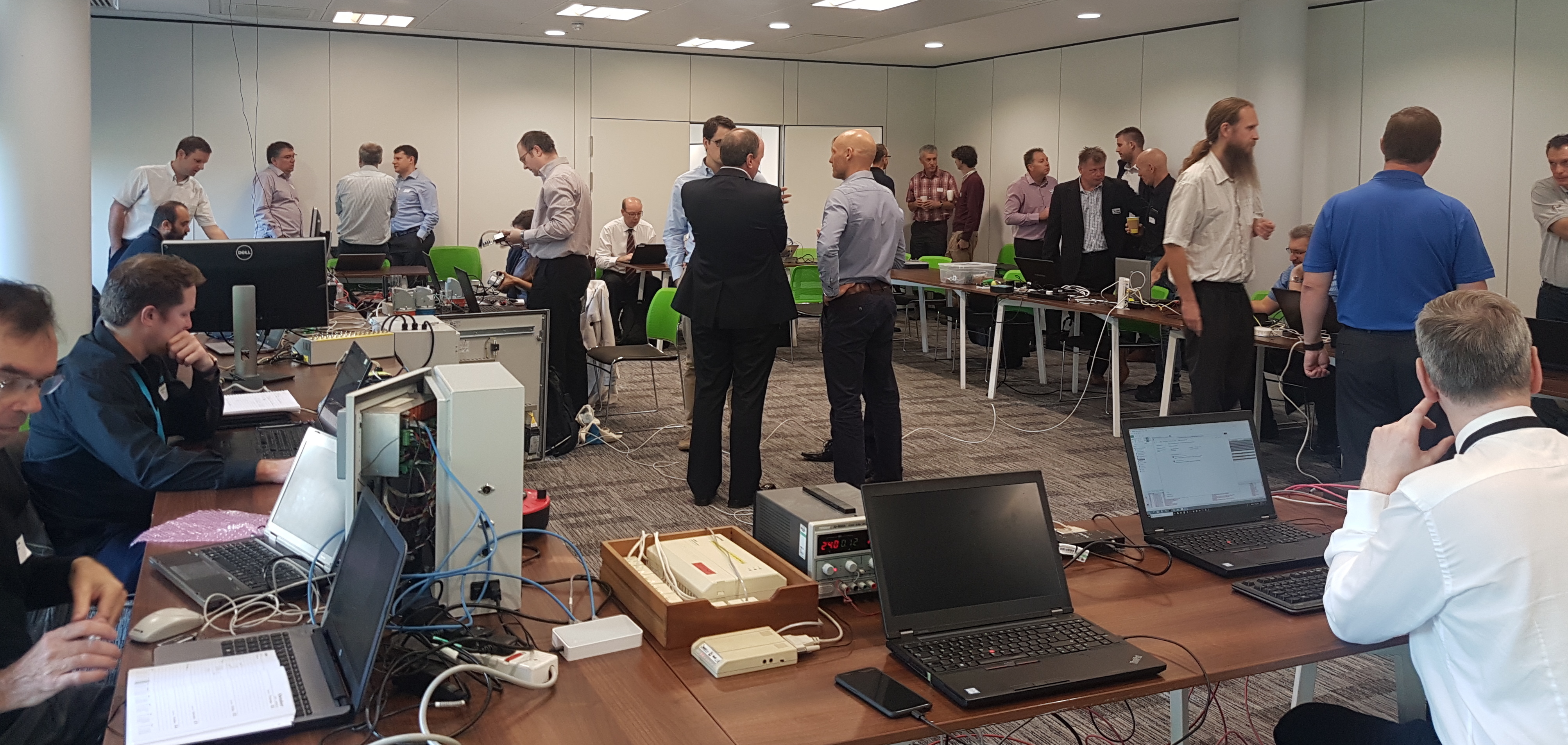 Activity at the October Plugfest